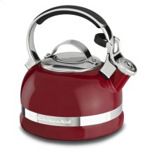 1.9 L Kettle with Full Stainless Steel Handle and Trim Band - Empire Red