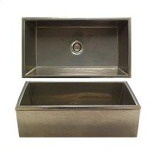 Reservoir Apron Front Sink - KS3620 White Bronze Brushed