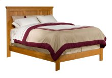 Alder Shaker Panel Bed