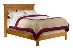 Alder Shaker Panel Bed Queen Size