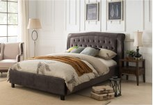 7512 Gray Eastern King Bed