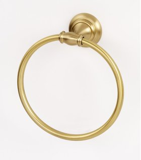 Charlie's Collection Towel Ring A6740 - Satin Brass