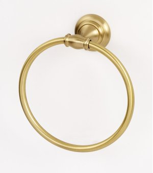 Charlie's Collection Towel Ring A6740 - Satin Brass Product Image