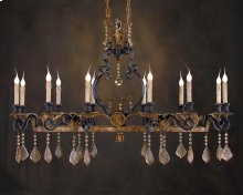 Ile St. Louis Twelve-Light Chandelier