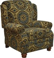 CLEARANCE ITEM--Reclining Chair - Peacock Product Image
