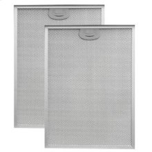 """Aluminum Replacement Grease Filter with Antimicrobial Protection for 42"""" QP3 Series"""