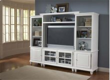 Grand Bay Small Entertainment Center White