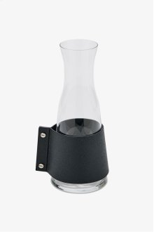 Draper Small Glass and Leather Carafe STYLE: DPCF01