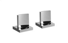 Sade/Targa/Luna Lavatory Handle Set - Deck-Mounted