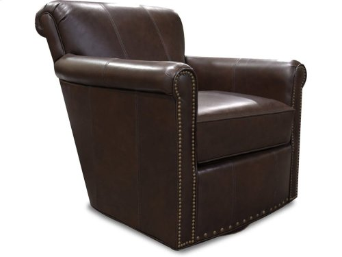 Lillian Swivel Chair with Nails 3C69ALN