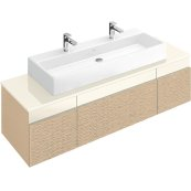 "Washbasin 47"" (Ground) Angular - White Alpin"