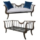 Metal Loveseat Product Image