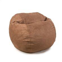 Full Chair - Plush Microsuede - Chocolate