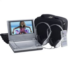7 inch portable DVD player with carrying case