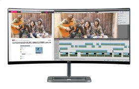 """34"""" Class Curved 21:9 UltraWide® IPS LED Monitor (34"""" Diagonal)"""