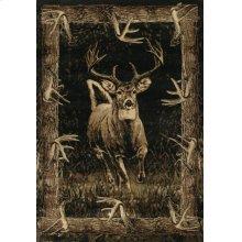 Contours/jq Running Deer Toffee Rugs