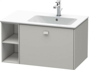Vanity Unit Wall-mounted, Concrete Grey Matt Decor Product Image