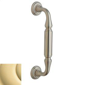 Non-Lacquered Brass Richmond Pull