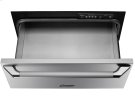 """Heritage 27"""" Epicure Warming Drawer, in Black Glass with Black Handle and End Caps Product Image"""