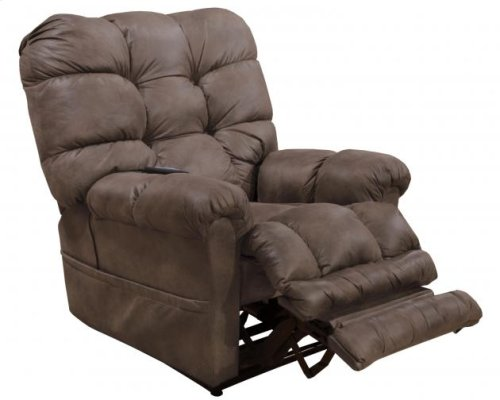 Power Lift Recliner w/ Dual Motor & Extended Ottoman