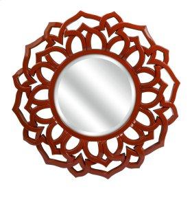 Calantha Red Wall Mirror