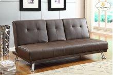 Elegant Lounger Sofa: 74 x 32.5 x 33.5H Bed: 74 x 46.5 x 15.75H