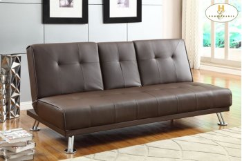 Elegant Lounger Sofa: 74 x 32.5 x 33.5H Bed: 74 x 46.5 x 15.75H Product Image