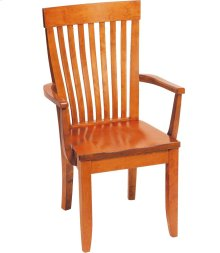 Monterey Arm Chair - Wood Seat