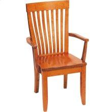 Monterey Arm Chair - Wood Seat