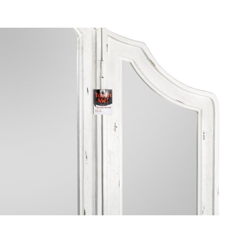 Emerald Home B312-27 Bordeaux Mirror, Antique White