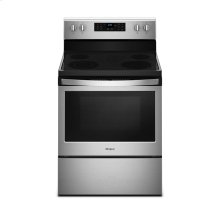 5.3 cu. ft. guided Electric Freestanding Range with True Convection Cooking