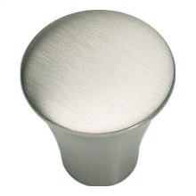 Fluted Knob 7/8 Inch - Stainless Steel