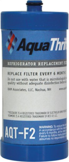 Refrigerator Replacement Filter fits in place of Frigidaire RF100 comparable models