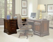 Brookhaven Left Pedestal Desk