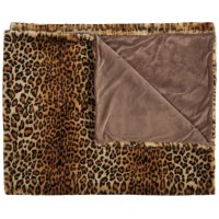 Fur Fl102 Brown 50 X 60 Throw Blankets Product Image
