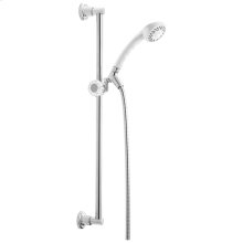 White Fundamentals ™ Single-Setting Slide Bar Hand Shower