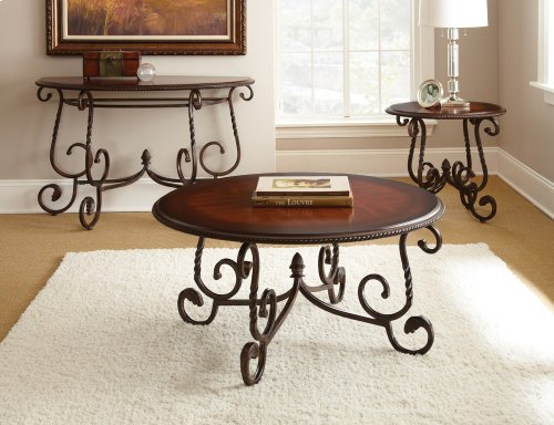 """Crowley End Table 26"""" x 26"""" x 24"""""""