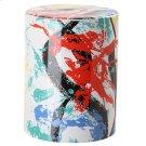 Kes Multicolor Garden Stool - Multi Product Image