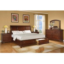 Olmsted Queen Sleigh Bed with Storage