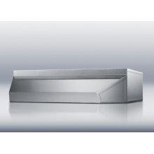 Stainless steel shell range hood in 42 inch width