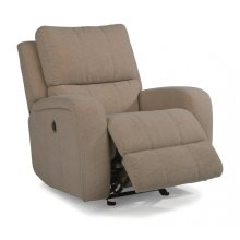 Hammond Fabric Power Gliding Recliner