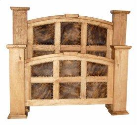 King Cowhide Mansion Bed
