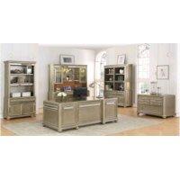 Ritzville Metallic Platinum File Cabinet Product Image