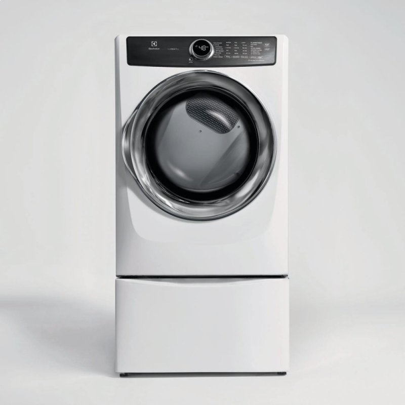 Front Load Perfect Steam Electric Dryer With Luxcare Dry And Instant Refresh 8 0 Cu