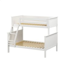 Twin/Full Bunk White