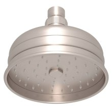 "Satin Nickel 5"" Bordano Rain Anti-Cal Showerhead"