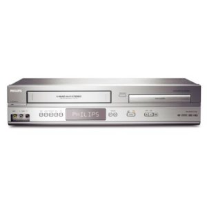 PhilipsDirect Dubbing Progressive Scan DVD/VCR Player