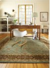 Kinsley Spa Blue Chocolate Hand Tufted Rugs