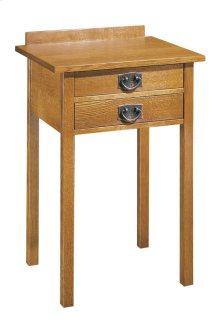 Two Drawer Tall Night Stand