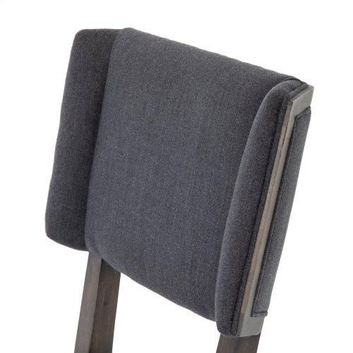 Misty Black Cover Jax Dining Chair